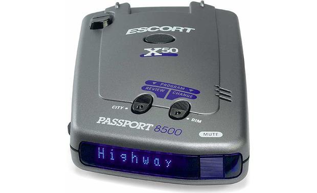 escort passport 8500 x50 blue radar detector with blue display hands on research at. Black Bedroom Furniture Sets. Home Design Ideas