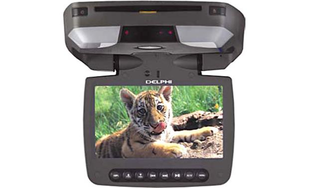 Delphi Overhead Monitor/DVD Player Gray