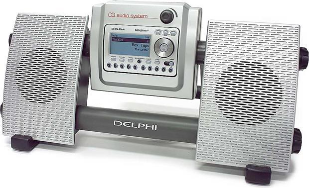 delphi cd audio system am fm cd mp3 player for skyfi and skyfi2 xm rh crutchfield com