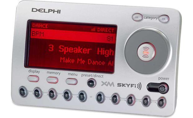 delphi skyfi add on xm satellite radio receiver at crutchfield com rh crutchfield com Delphi XM SKYFi Accessories XM SKYFi2 Car Kit