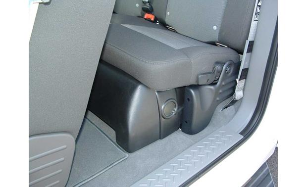 Q-Customs Factory-fit Subwoofer Enclosures Enclosure shown in black