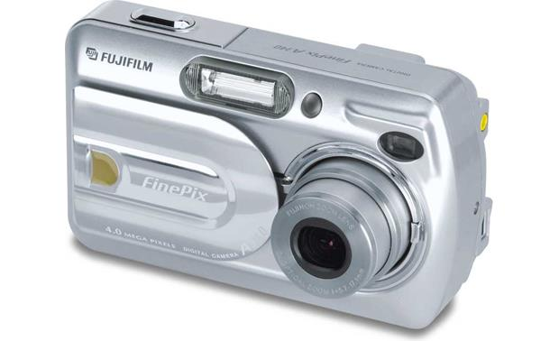 fujifilm finepix a340 4 megapixel digital camera at crutchfield com rh crutchfield com  Fuji FinePix S6800 Digital Camera