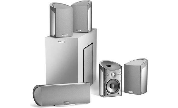 polk audio rm6800 5 1 home theater speaker system. Black Bedroom Furniture Sets. Home Design Ideas
