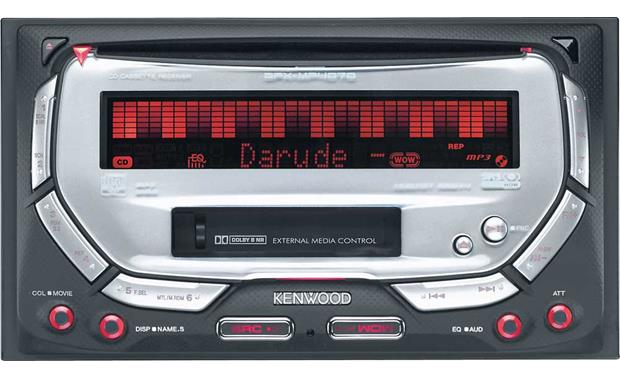 Kenwood DPX-MP4070 Front