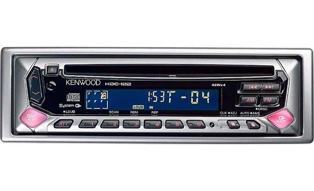 kenwood kdc 122 cd receiver at crutchfield com rh crutchfield com Wiring-Diagram Kenwood Deck Wiring-Diagram Kenwood KDC Mp435u