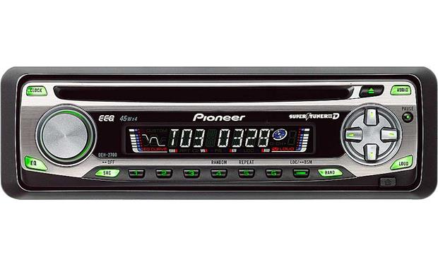 pioneer deh 2700 cd receiver at crutchfield com rh crutchfield com Pioneer Super Tuner 3D Receiver 3D Tuning Car Games