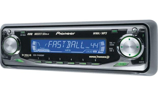 pioneer deh p4600mp car stereo manual