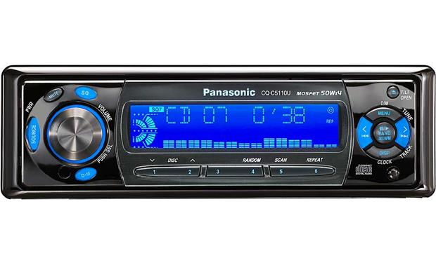 panasonic cq c5110u cd receiver with cd changer controls at Tekmar Wiring Diagram panasonic cq c5110u front