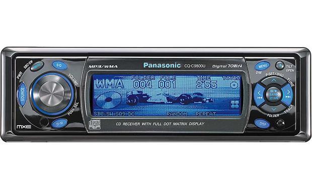 Panasonic CQ-TX5500 car tube cd mp3 player - YouTube  |Panasonic Truck Radio A5198