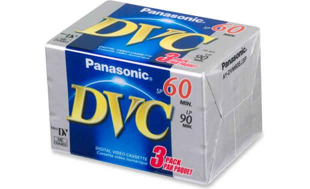 Panasonic Blank Mini DV Tape Front
