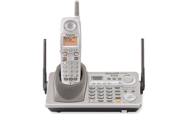 panasonic cordless phone with answering machine and talking caller id