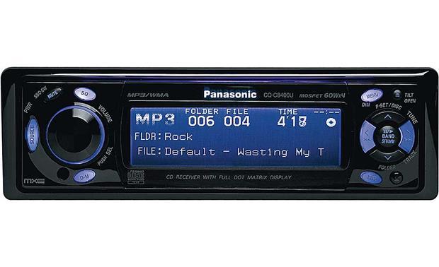 panasonic mxe cq c8400u cd mp3 wma receiver at crutchfield com on GE Microwave Oven Wiring Diagram CB Radio Mic Wiring Diagrams for panasonic mxe cq c8400u front