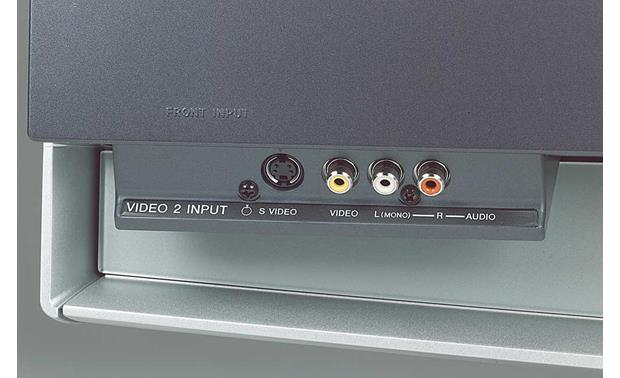 Sony KDF-60WF655 Front-panel A/V input