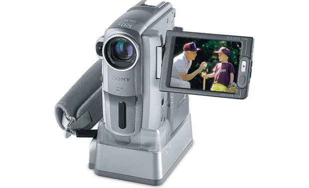 Sony DCR-PC109 Mini DV digital camcorder at Crutchfield