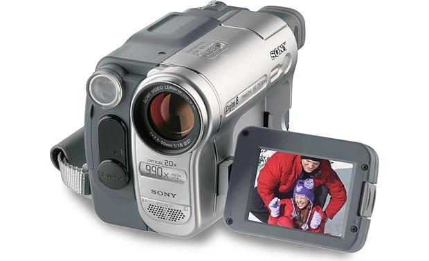 sony dcr trv460 digital8 camcorder at crutchfield com rh crutchfield com Sony DCR- SX85 Sony Handycam DCR DVD