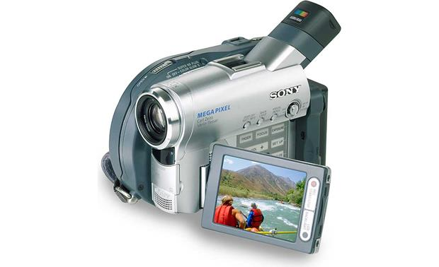 sony dcr dvd201 dvd camcorder at crutchfield com rh crutchfield com Sony Handycam Camcorder sony dcr-dvd92e handycam dvd camcorder manual
