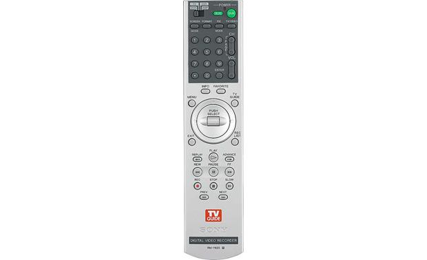 Sony DHG-HDD250 Remote