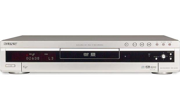 sony rdr gx300 dvd recorder with multi format recording capability rh crutchfield com sony rdr-gx300 service manual Sony DVD Recorder