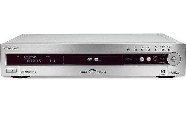 Sony RDR-HX900 Front