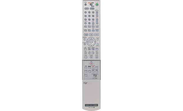 Sony RDR-VX500 Remote - open