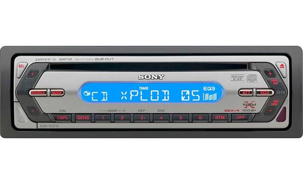 Sony CDX-S2210 Front