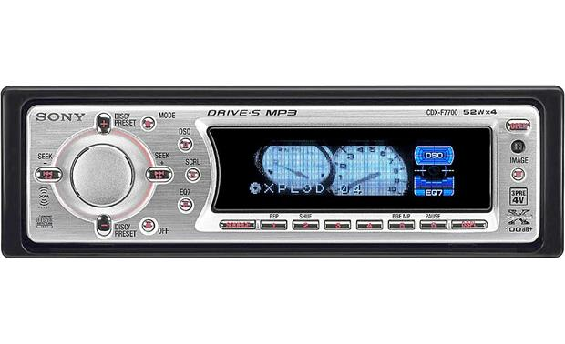 x158f7700 sony cdx f7700 cd mp3 receiver with cd changer controls at sony cdx f5710 wiring diagram at letsshop.co