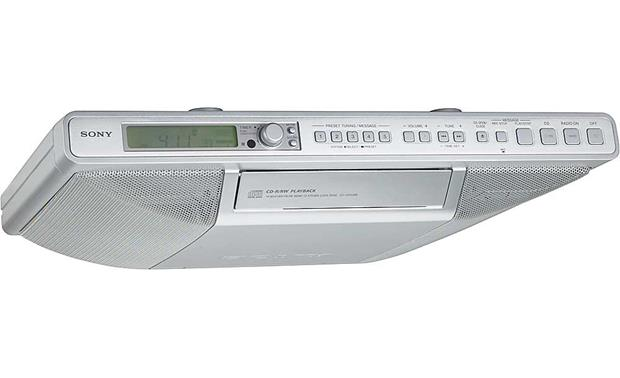 sony under cabinet radio sony icf cd553rm kitchen radio with cd player at 26484