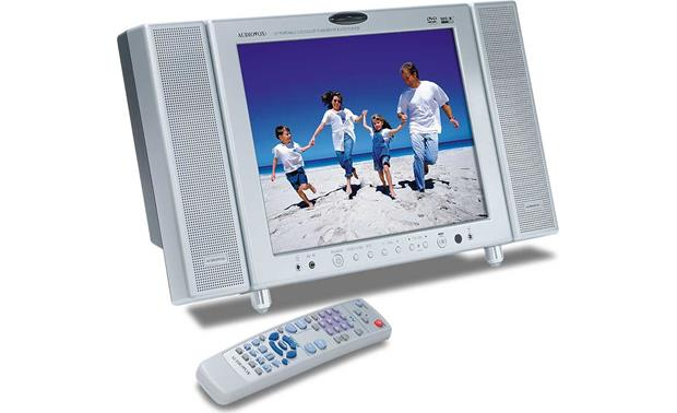 audiovox d1210 all in one video system12 lcd video monitor with rh crutchfield com