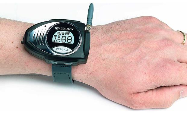 Audiovox GMRS201W Front (on wrist)
