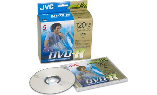 JVC Single-sided DVD-R Discs Front