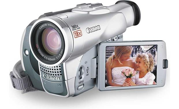 canon elura 70 mini dv digital camcorder at crutchfield com rh crutchfield com
