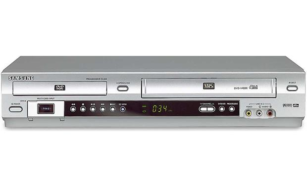 samsung dvd v4800 dvd vcr combo with multi memory card slot at rh crutchfield com Samsung DVD Player R157 Samsung DVD Recorder