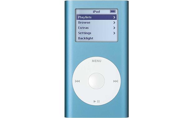 Apple iPod™ mini (Blue) Portable MP3 player at Crutchfield