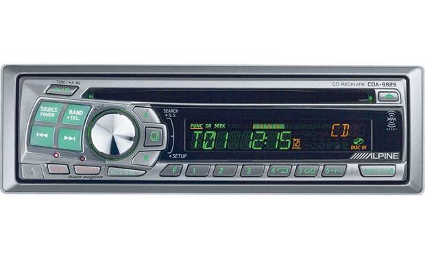 alpine cda 9825 cd receiver with cd changer controls at crutchfield com rh crutchfield com User Manual Alpine CDA 9826 Alpine CDA 9825 Manual PDF