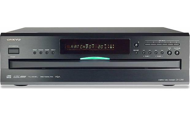 Onkyo DX-C390 6-CD changer with MP3 CD playback at Crutchfield