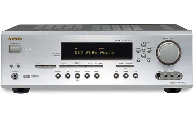 x580TXS502S f_MT onkyo tx sr502 (silver) home theater receiver with dolby digital  at reclaimingppi.co