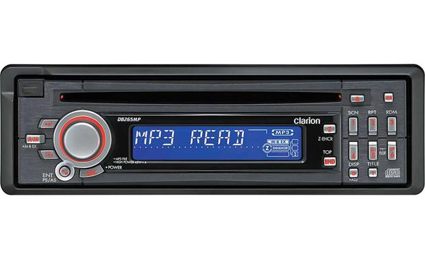 clarion db265mp cd receiver mp3 playback at crutchfield com clarion db265mp front
