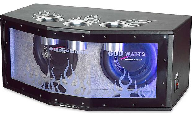 Audiobahn ABP102T Bandpass enclosure with two 10\