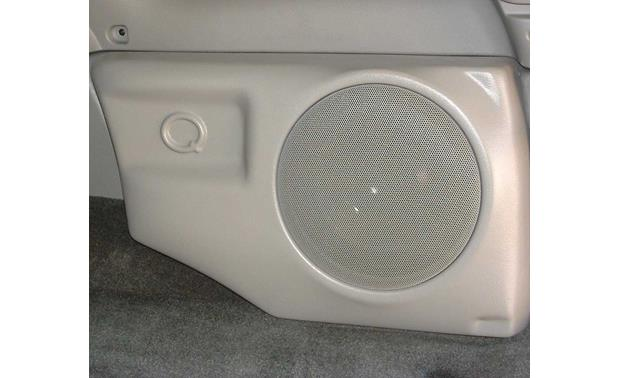 Q-Customs Factory-fit Subwoofer Enclosures Brown