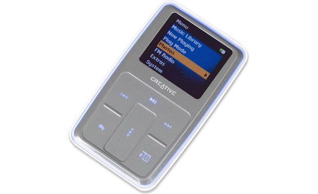 creative zen microphoto 8gb silver portable mp3 player photo rh crutchfield com Zen Com Zen Com