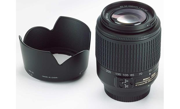 Nikon AF-S DX 55-200mm Zoom Telephoto Lens Front