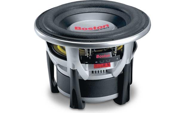 boston acoustics g510 4 10 4 ohm subwoofer at. Black Bedroom Furniture Sets. Home Design Ideas