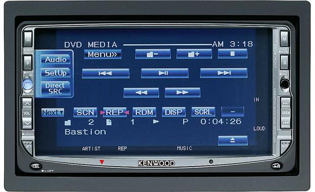 Kenwood DVD Player/Navigation Package DDX7017