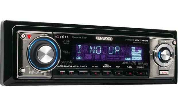Kenwood Excelon KDC-X589 Front Right