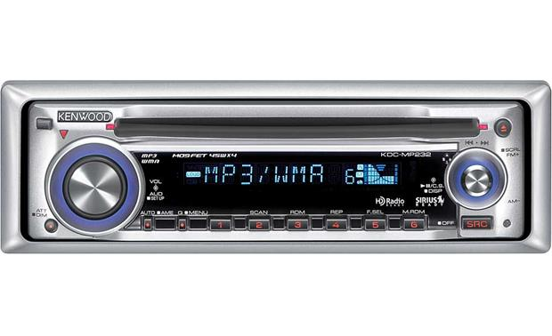 kenwood kdc mp232 cd player with mp3 wma playback at crutchfield com kenwood kdc mp142 wiring code kenwood kdc mp232 front