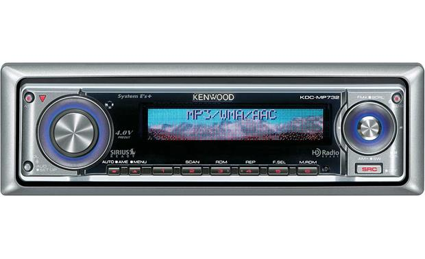 kenwood kdc mp732 cd player with mp3 wma playback at. Black Bedroom Furniture Sets. Home Design Ideas