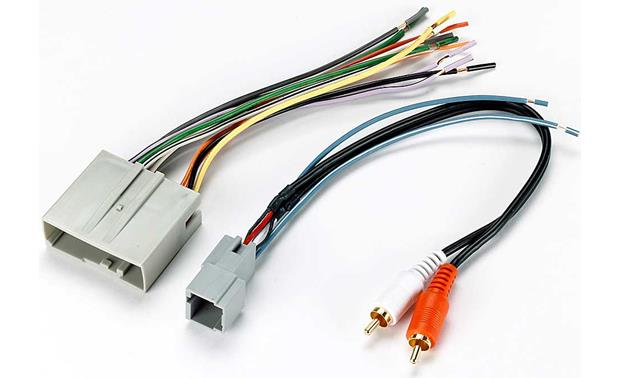 x120705521 f metra 70 5521 receiver wiring harness connect a new car stereo in Wiring Diagram for 1999 Ford Mustang at readyjetset.co