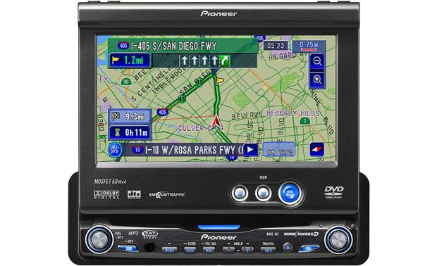Pioneer avic n3 in dash dvd receiver with navigation and 65 video pioneer avic n3 front cheapraybanclubmaster Gallery