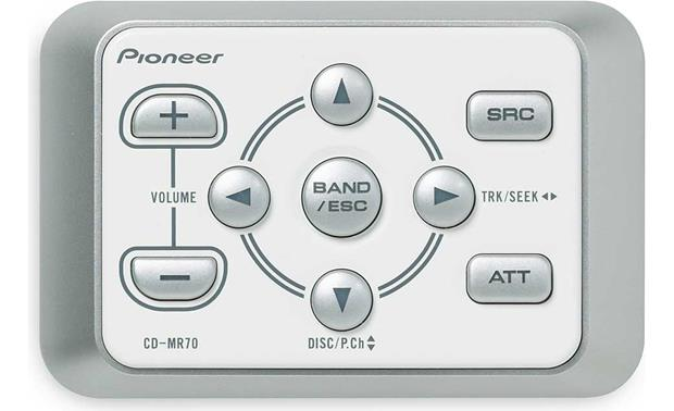 Pioneer CD-MR70 Marine Remote Control Front