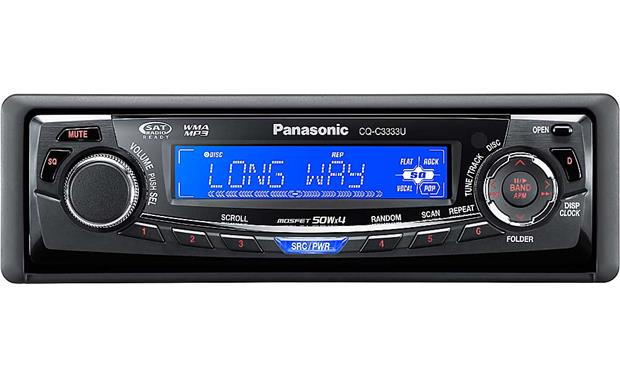 panasonic cq-c3333u cd receiver with mp3/wma playback at, Wiring diagram